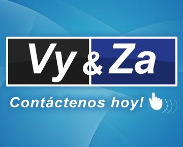 VyZa Contacto | Vy&Za Soluciones Web